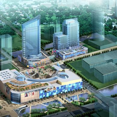 城市综合体 所获奖项:2006年下半年深圳市优质结构